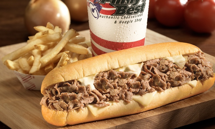 Philly's Best - Orange: Sandwiches at Philly's Best (Up to 46% Off). Two Options Available at Orange Location.