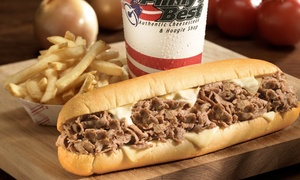 Philly's Best: Sandwiches at Philly's Best (Up to 46% Off). Two Options Available at Orange Location.