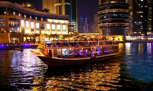 Desert Rangers: Marina Dhow Cruise with Dinner for One, Two or Four with Desert Rangers