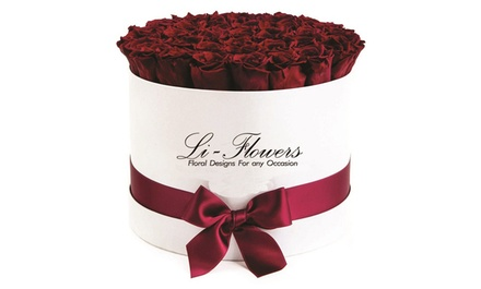 Flower Arrangements and boxes of roses at Li-Flowers (Up to 47% Off). Two Options Available.