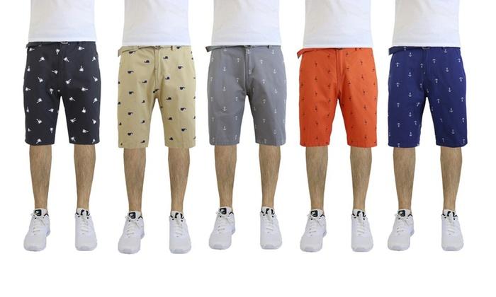 cotton shorts men fashion