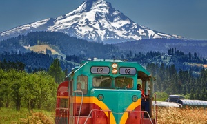 Up to 47% Off Scenic Tour from Mount Hood Railroad at Mount Hood Railroad, plus 9.0% Cash Back from Ebates.