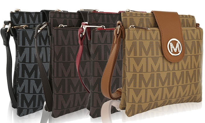 Paola M Signature Crossbody Bag MKF Collection by Mia K Farrow