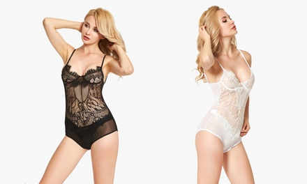 Underwired Lace Bodysuit