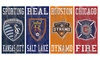 "Fan Creations MLS Heritage Team Logo Sign 6""x12"""