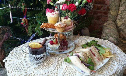 image for Afternoon Tea for Two or Four at The Vintage Powder Room (41% Off)
