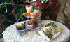 The Vintage Powder Room - Whitley Bay: Afternoon Tea for Two or Four at The Vintage Powder Room (41% Off)
