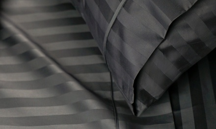 Premium 1000tc American Pima Cotton Sheet Set: Queen $49 or King Size $59 Don't Pay Up to $329