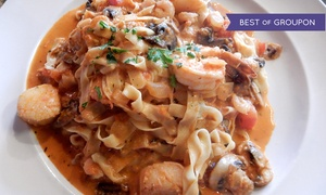 Montecatini Ristorante: Italian Dinner for Two at Montecatini Ristorante (Up to 41% Off)