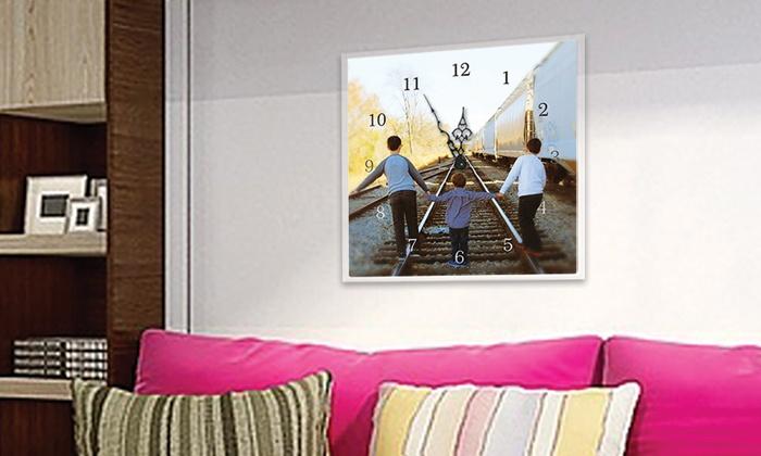 Timeless Photo Clocks - Milton: $30 for $60 Toward a Custom Photo Clock — Timeless Photo Clocks