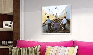 Timeless Photo Clocks: $30 for $60 Toward a Custom Photo Clock — Timeless Photo Clocks