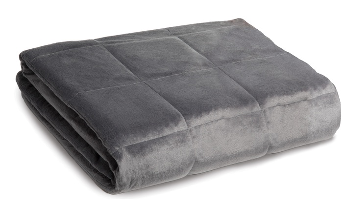 Calming Comfort Weighted Blanket By Sharper Image Groupon
