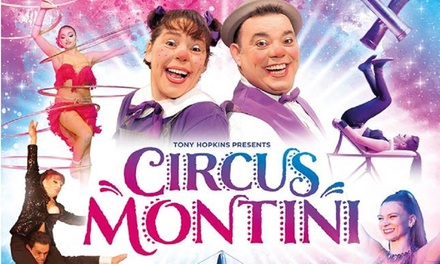 Circus Montini, 28 June–14 July, Five Locations