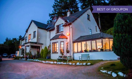Loch Ness: 1 to 3 Nights for Two with Breakfast, 3Course Dinner and Wine at The Craigdarroch Inn