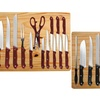Kitchen Knife Set with Cutting Board (16-Piece)