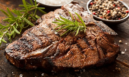 Steak Meal with a Glass of Wine or Beer for Up to Six at Blue Eyed Maid (Up to 50% Off)