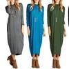 Women's Dolman Midi Dress
