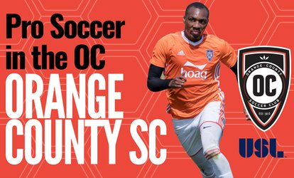 Orange County SC – Up to 61% Off Soccer Game