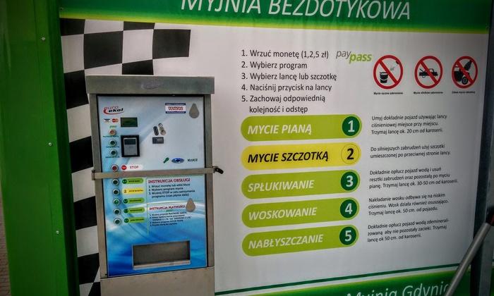Poważne Myjnia bezdotykowa - Zielona Myjnia Gdynia | Groupon UU57