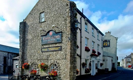 Cumbria: Up to 3 Nights for Two with Breakfast at Kings Arms Hotel from Kings Arms Hotel Burton