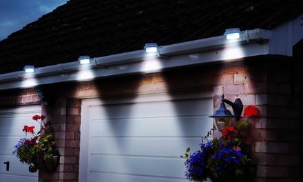 2 ou 4 lampes solaires pour gouttières, dès 9,99€ (jusqu'à 59% de réduction)