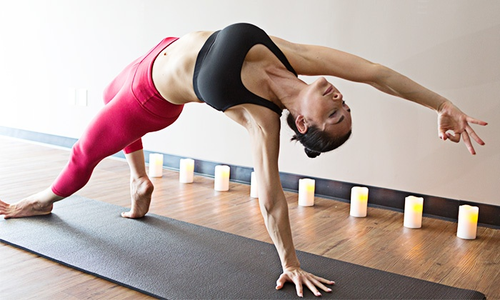 Red Diamond Yoga - Palms: $30 for Three Yoga Classes at Red Diamond Yoga ($72 Value)