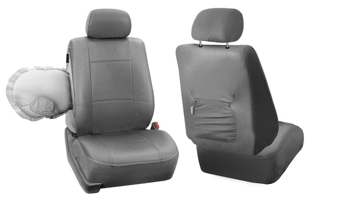 Up To 65 Off On Faux Leather Car Seat Covers