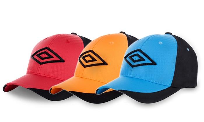 3a4b151aea28d 3 casquettes homme baseball Umbro   Groupon Shopping