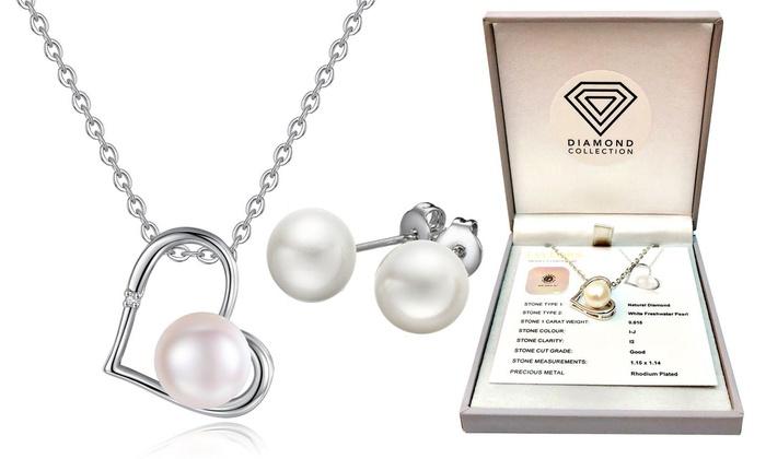 sito affidabile 10adf dad18 Fino a 84% su Gioielli con diamanti e perla | Groupon