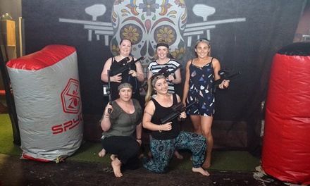 Laser Tag Package with Refreshments for One ($39) to Eight People ($312) at Thrill Zone (Up to $532 Value)
