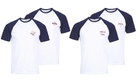 Men's Raglan T-Shirts Two-Pack