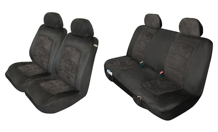 Durable Microfiber Seat Cover Set
