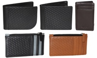 RFID Men's Leather Wallet. Multiple Options Available.
