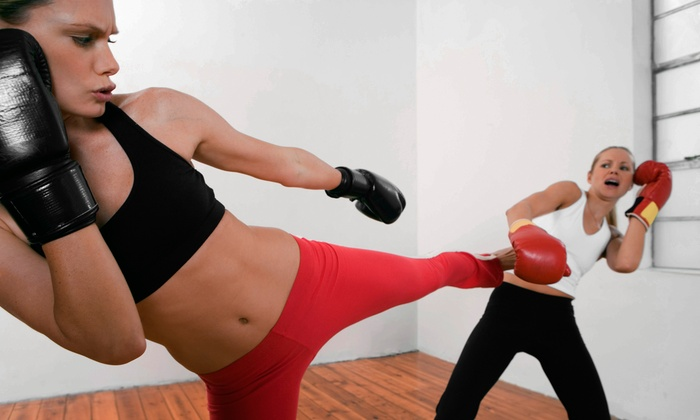Kickboxing.com - Greater Upper Marlboro: 10 or 20 Classes with Gloves at Kickboxing.com (Up to 82% Off)