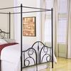 Louisa Queen Canopy Bed