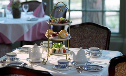 image for Traditional or Sparkling Afternoon Tea for Two or Four at Stratton House Hotel