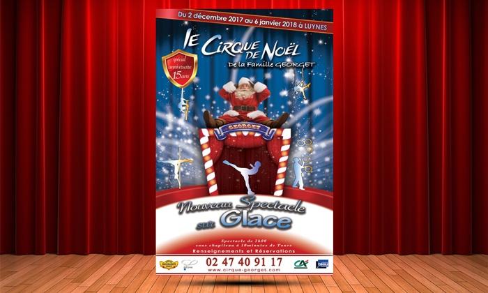 2 places pour le spectacle du Village du Cirque de Noël à Luynes, du 3 décembre 2017 au 6 janvier 2018, à 19 € à Luynes