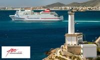 Paga desde 3 € y consigue tarifas en tu billete de ferry Valencia a Ibiza con Trasmediterránea