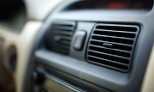Rajpoot Garage: Car A/C Check or Full Service with Radiator Health Check and Optional Re-Gas at Rajpoot Garage