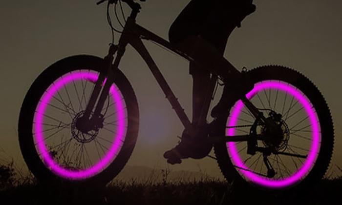 led verlichting voor fietswielen
