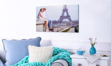 1 toile XXXL dimensions au choix avec Photo Gifts dès 24,99 € (jusquà 83% de réduction)