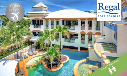 Port Douglas: From $499 Per Person for 4-Night Stay with Flights and Wine at Regal Port Douglas