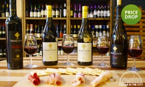 Cellar in the City: Choice of Five Food and Wine Pairings Each from R149 for Two at Cellar in the City