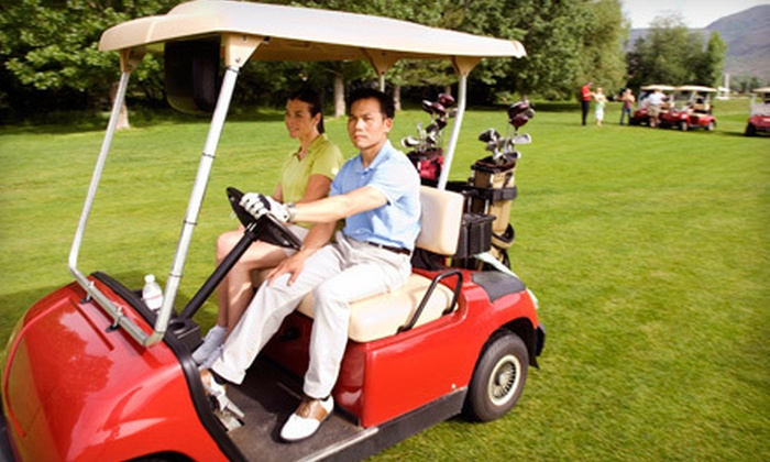 Golf des Trois Clochers - Maniwaki: 18-Hole Round of Golf for Two or Four with Cart Rental at Golf des Trois Clochers in Maniwaki (Up to 62% Off)