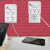 Aduro 2-, 3-, 4-, or 6-Outlet Surge Protector with Dual USB Ports
