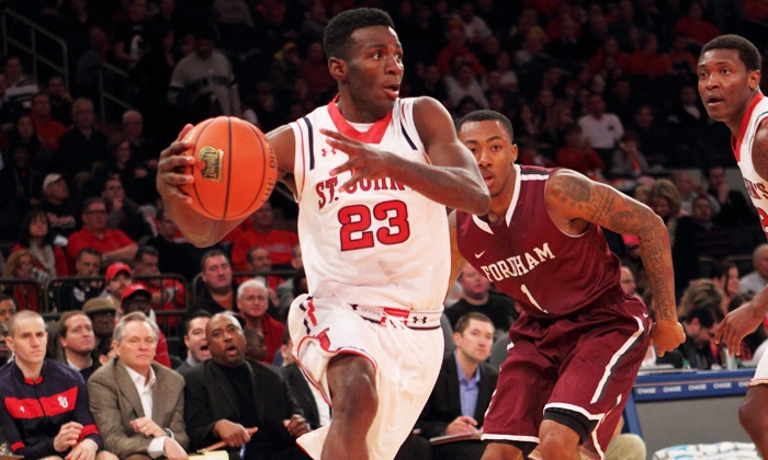 St. John's Red Storm Men's Basketball - Madison Square Garden: $37.50 to see a St. John's Men's Basketball Game at Madison Square Garden on Feb. 9, 18, or 25, or Mar. 2 ($80.35 Value)