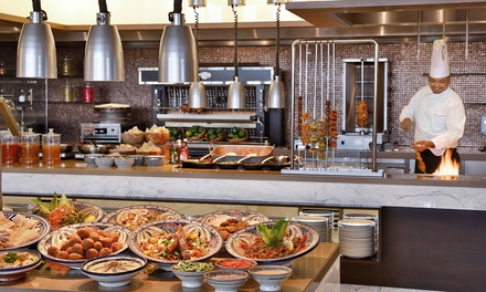 Lunch or Dinner Buffet for Up to Four at Khayal at Marriott Hotel Al Forsan, Abu Dhabi (Up to 57% Off)