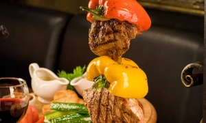 Brazilian Steak House: All-You-Can-Eat Dinner for Two or Four at Brazilian Steak House (34% Off)