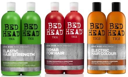 Shampoo e balsamo Tigi Bed Head, disponibili in varie opzioni