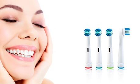 Cabezales compatibles ORAL B Precision Clean & Dual Heads